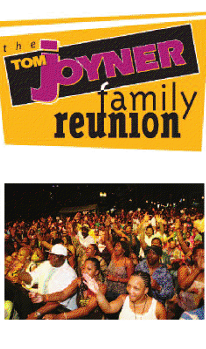 "For radio host Tom Joyner, a traditional family reunion and ""Party"