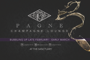 Pagne Champagne Lounge will have its grand opening in Thornton Park next month.