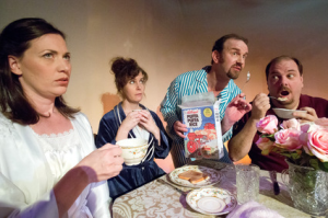 """Table Manners"" opens tonight at the Mad Cow Theatre in Orlando."