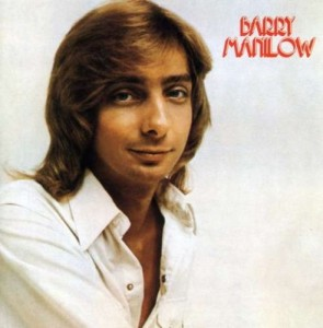 During his concert at the Amway on Saturday, Barry Manilow had some fun joking about the cover of his first album.