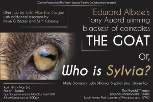 "Edward Albee's ""The Goat or, Who is Sylvia?"" is now playing at the Lowndes Shakespeare Center."