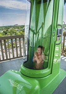 Ihu's Breakaway Falls drop at Aquatica opened this weekend at SeaWorld Resort Orlando.