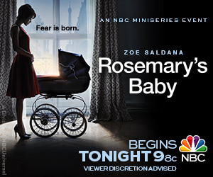 "The first part of ""Rosemary's Baby"" the miniseries premiered on Mother's Day."