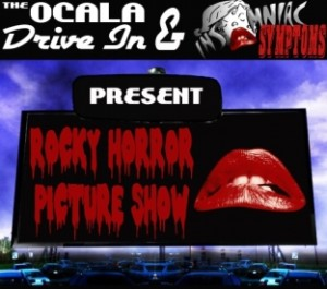 "Cult classic ""The Rocky Horror Picture Show"" will be playing at the Ocala Drive-In on Saturday."