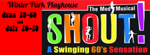"""Shout: The Mod Musical"" is now playing at the Winter Park Playhouse."