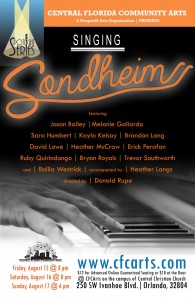 The show Sondheim Forever is a tribute to that classic Broadway composer.