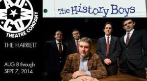 "Alan Bennett's play ""The History Boys"" is starting its final week at The Mad Cow Theatre."