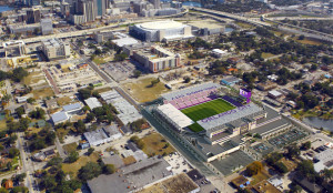 The city has released Skyline renderings of what the new Orlando City Soccer Stadium will look like.