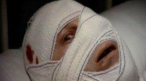 "The Jew as victim: Roman Polanski plays Trelkovsky in his 1976 movie ""The Tenant."""