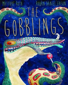 "The illustrated book ""The Gobblings"" offers a dark tale of one boy's scary adventures in space -- but it's hard to say if this is indeed a ""children's book."""