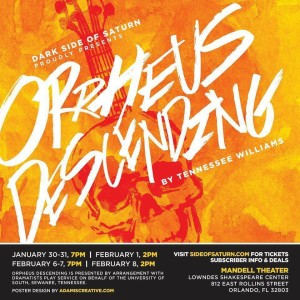 "Dark Side of Saturn theater company has revived Tennessee Williams' play ""Orpheus Descending."""