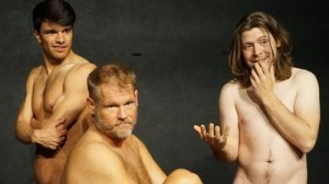 """Jonathan Slusser, Taylor Pappas and Cody Dermon star in the Eyewitness Theatre Company production of """"Dark Wood"""" at the Orlando International Fringe Theatre Festival."""