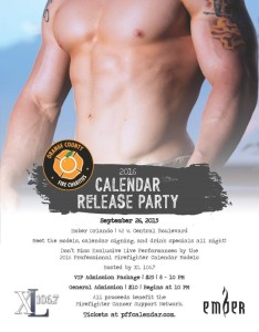 Orange County Fire Charities is ready to unveil its 2016 Professional Firefighters Calendar.