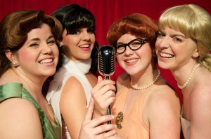 "Kate Zaloumes, Lindsay Nantz, Dandia Ahlers and Caitlin Doak star in The Winter Park Playhouse's production of ""The Marvelous Wonderettes."""