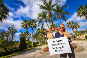 An Flamand, the owner and broker at Orlando Vacation Reality, wants to hear from builders looking for buyers.