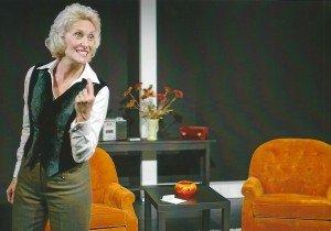 """Carol Adams plays Stella Goldschlag in """"Blonde Poison."""""""