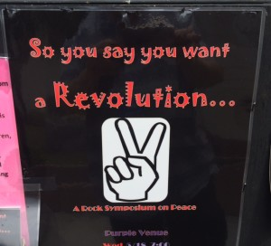 """So You Say You Want a Revolution ..."" is being performed at the Orlando Fringe Festival."
