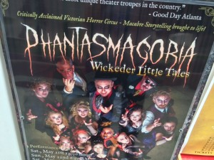 The Phantasmagoria troop bring their haunting tales of terror to the Fringe stage.