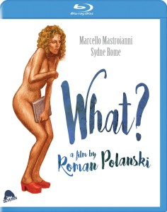 "Roman Polanski's 1973 movie ""What?"" has finally been released on DVD in the U.S."