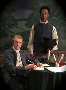 "History comes alive in the play ""Thomas Jefferson ~ My Master, My Slave, My Friend."""