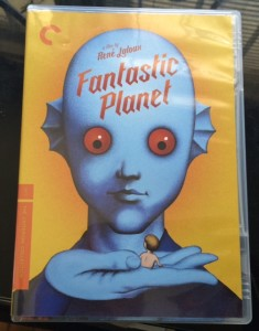 "Criterion Collection has just released on 1973 science fiction movie ""Fantastic Planet"" on DVD and Blu-Ray."