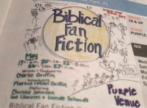 Biblical fan fiction orlando fringe