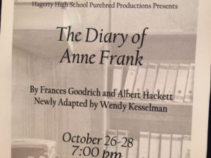 Diary of Anne Frank Hagerty High