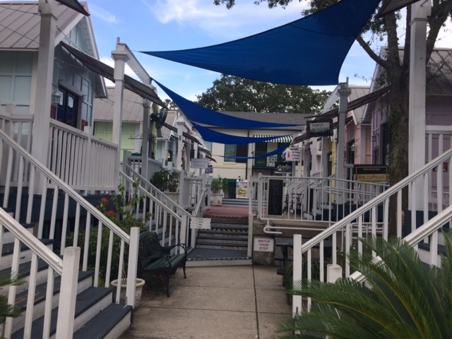 St. Simons Island village