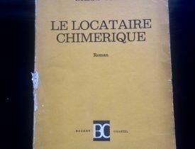 Roland Topor Le Locataire Chimerique
