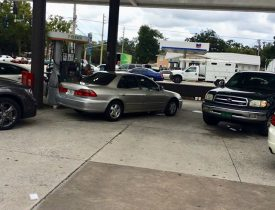 Gas station thefts