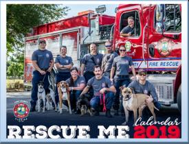 Rescue Me firefighter calendar