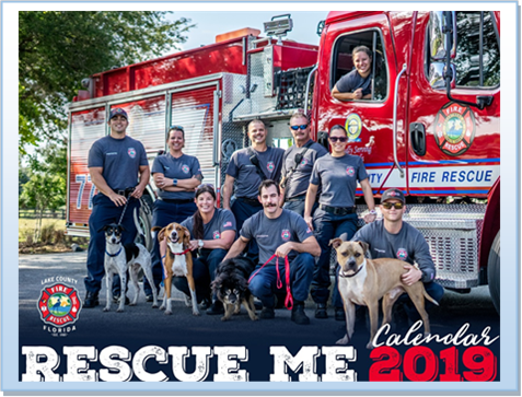 Rescue Me firefighter calendar