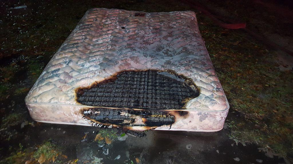 mattress fire