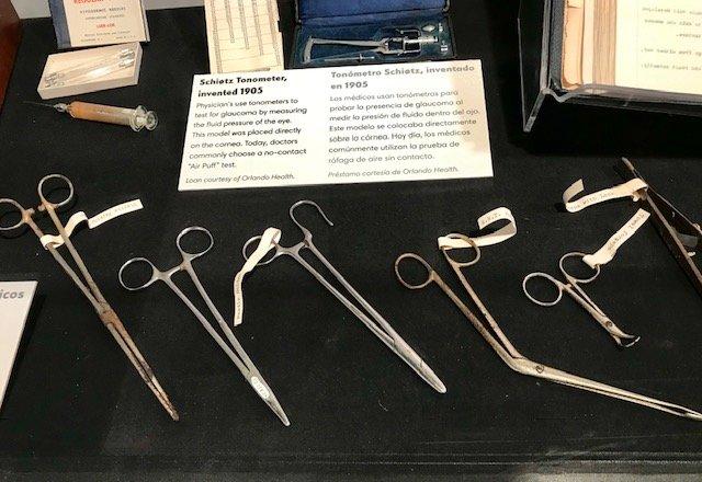 Orlando Health medical instruments