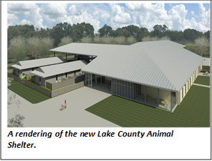New lake County Animal Shelter