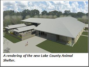 New lake County Animal Shelter