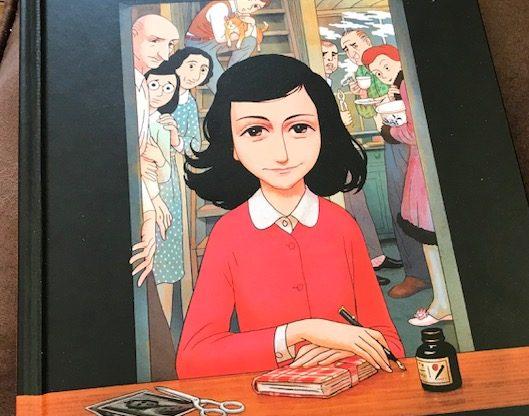 Anne Frank graphic novel