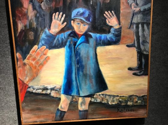 Holocaust Museum exhibit on Artistic Expression Through Conflict