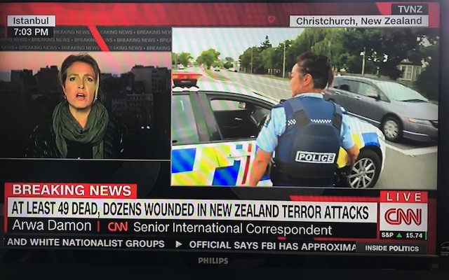Holocaust Center Condemns New Zealand attack