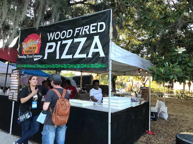 Wood Fired Pizza at Orlando Fringe