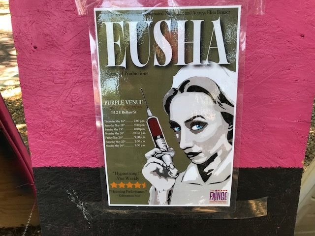 Eusha at Orlando Fringe