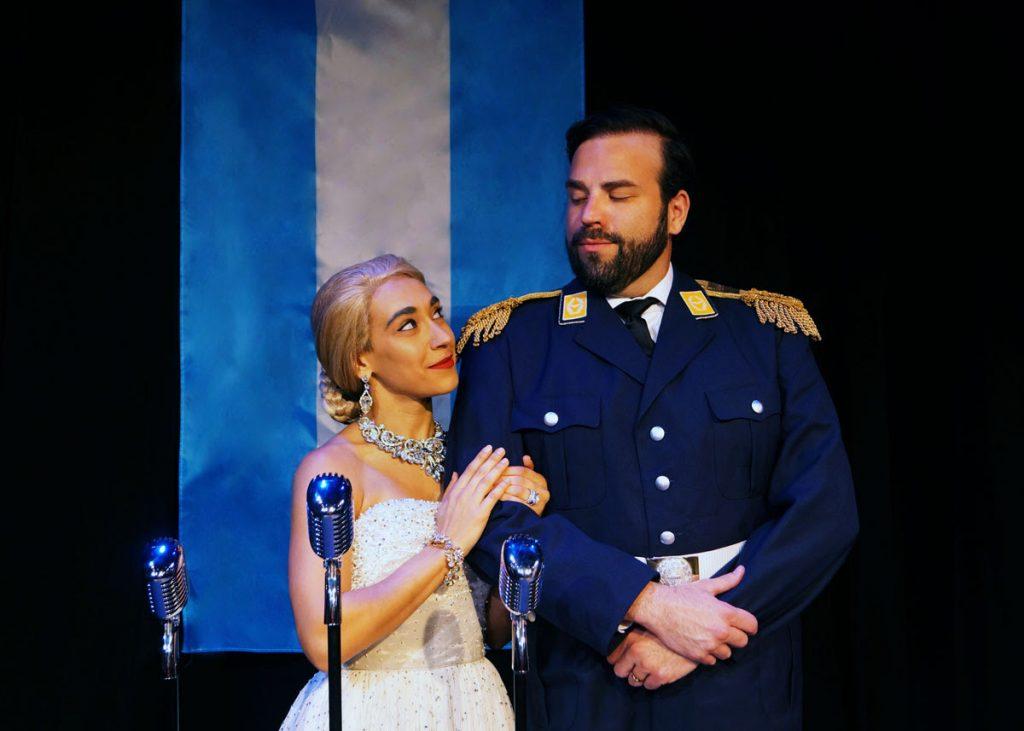 Evita musical at Orlando Shakes