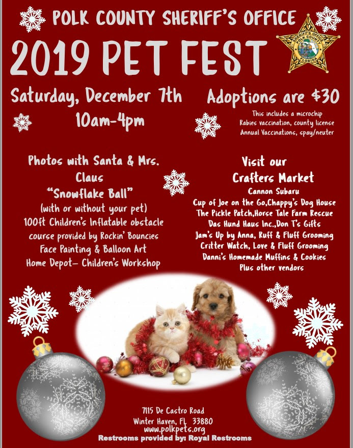 Polk County Animal Shelter pet fest