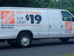 home depot rental trucks